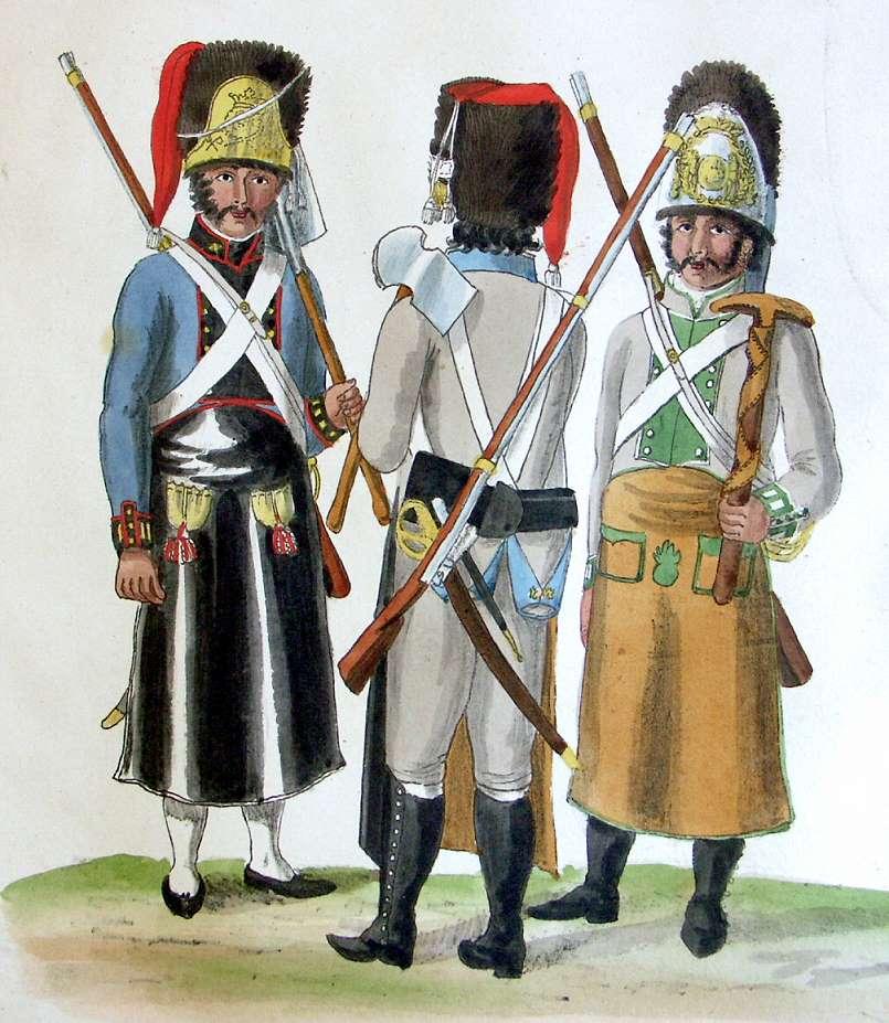 Униформология НВ: Испанская Армия и Португалия