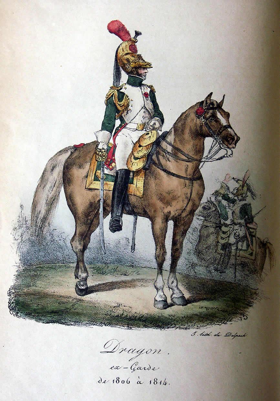 Monogram Merite - French Dragoon of the Guard 1812 -Zinnbausatz 1/32 VernetLami_Tafel69