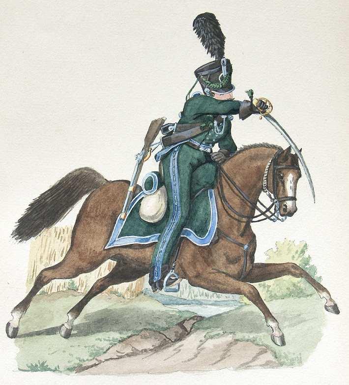 freiwillige jäger 1813